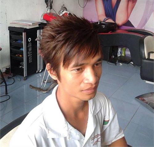 Tóc nam tỉa so le đẹp thu hút phái đẹp
