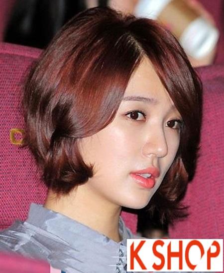3 kiểu tóc ngắn uốn đuôi dễ thương cho nàng cá tính