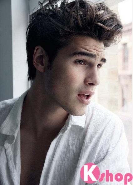 6 kiểu tóc nam đẹp cho chàng khuôn mặt dài điển trai