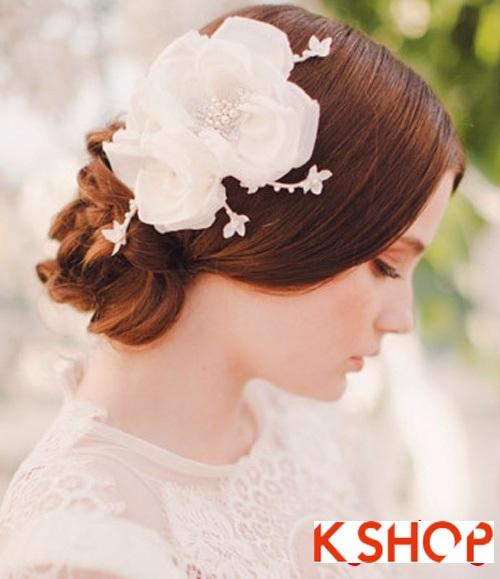 Bật mí kiểu tóc đẹp trong ngày cưới cho cô dâu 2018