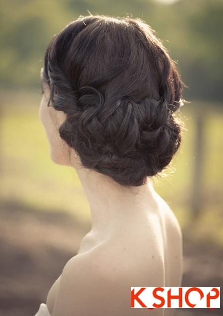 Búi tóc đẹp lãng mạn quyến rũ cuốn hút ngày cưới