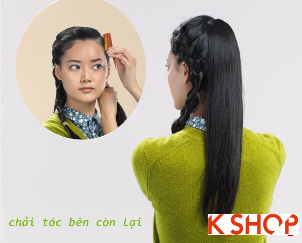 Hướng dẫn cách tết tóc đẹp đơn giản mà nữ tính cho nàng
