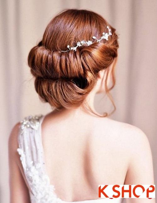 Kiểu tóc búi đẹp nhất cho cô dâu sang trọng trong ngày trọng đại