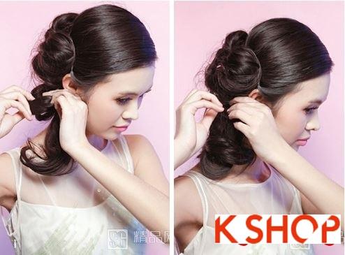 Kiểu tóc cưới đẹp cho cô dâu trong ngày trọng đại
