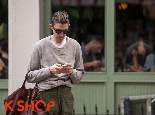 Kiểu tóc nam cạo chỏm mạnh mẽ cá tính thời thượng