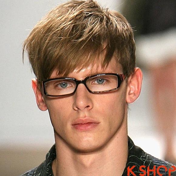 Kiểu tóc nam châu âu nam tính phong cách