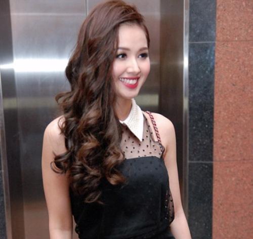 Kiểu tóc sành điệu cá tính nổi bật của hot girl việt