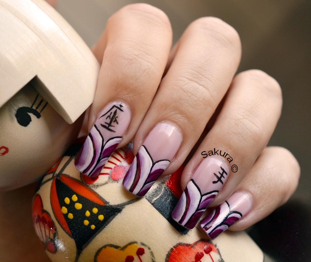 Những mẫu nail họa tiết đẹp cho nàng cá tính thêm nổi bật