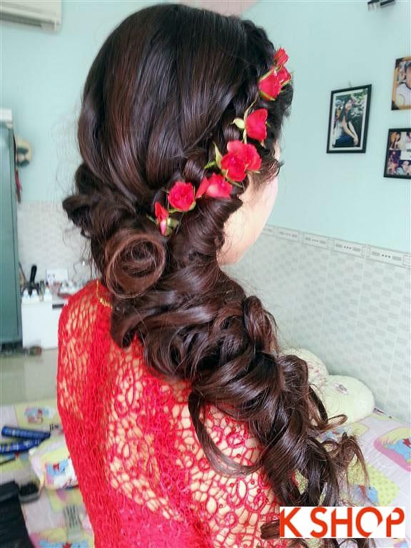 Tóc cô dâu nổi bật lãng mạn quyến rũ ngày cưới