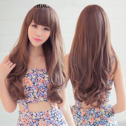 Tóc dài uốn đuôi đẹp nhất 2017 cho nàng mặt tròn dễ thương