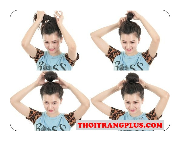 Top 5 kiểu tóc búi cho nàng năng động thoải mái