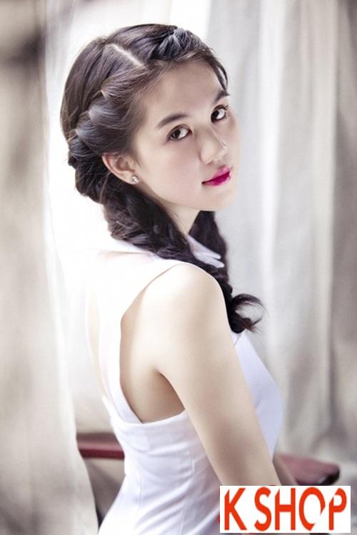 Trào lưu tóc tết mái đẹp cho nàng xinh như công chúa