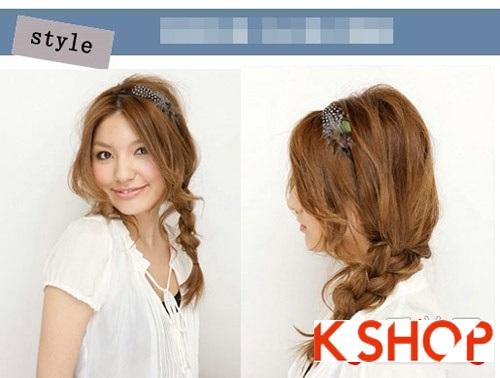Xu hướng tóc cho bạn gái dễ thương quyến rũ