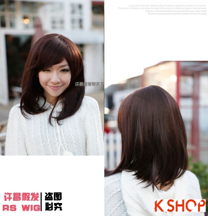 Xu hướng tóc ngắn ngang vai cho cô nàng dễ thương