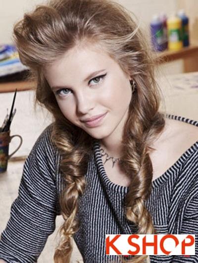 Gợi ý kiểu tóc đẹp 2017 cho nàng teen girl