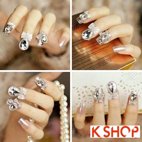 Những kiểu móng tay cho cô dâu thêm lộng lẫy