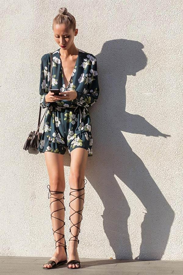 Sao việt chân ngắn - dài cỡ nào cũng tự tin đi mốt giày bó giò