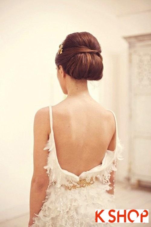 Lựa chọn kiểu tóc cô dâu đẹp đầy quyến rũ cuốn hút trong ngày cưới
