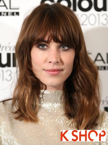 Lựa chọn kiểu tóc ngang vai đẹp cho bạn gái dạo phố hè 2017