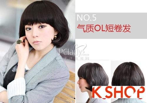 Một số kiểu tóc ngắn hàn quốc đẹp 2017 cho nàng cá tính sành điệu