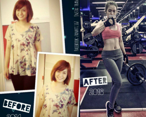 người đẹp công sở tập gym trưa để cải thiện vóc dáng