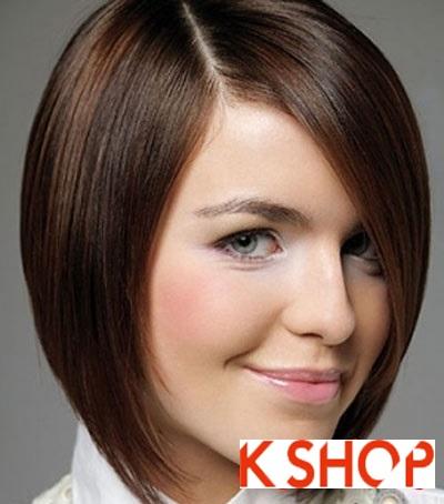 Tổng hợp kiểu tóc đẹp với bạn gái có khuôn mặt tròn