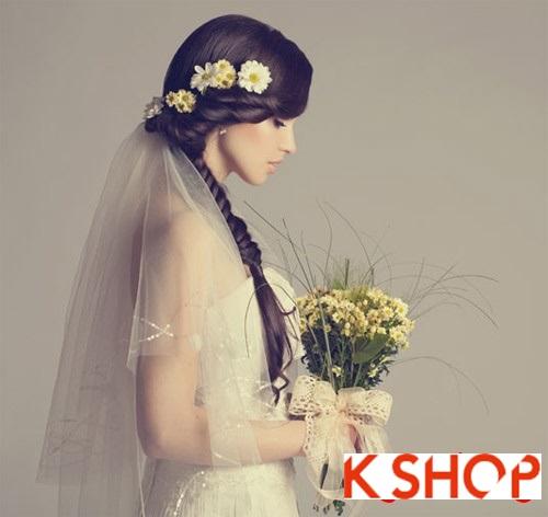 11 kiểu tóc tuyệt đẹp cho nàng dâu quyến rũ trong ngày cưới