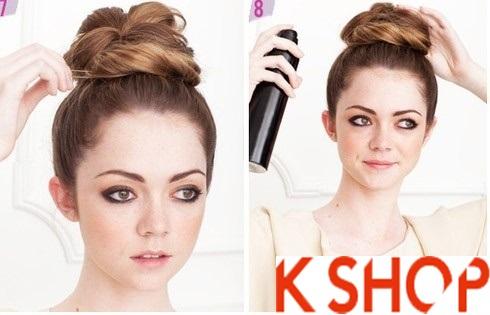 3 kiểu tóc búi dễ làm cho bạn gái năng động năm 2017