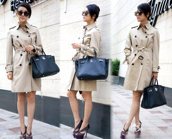 Áo khoác kaki nữ đẹp cho nàng dáng gầy