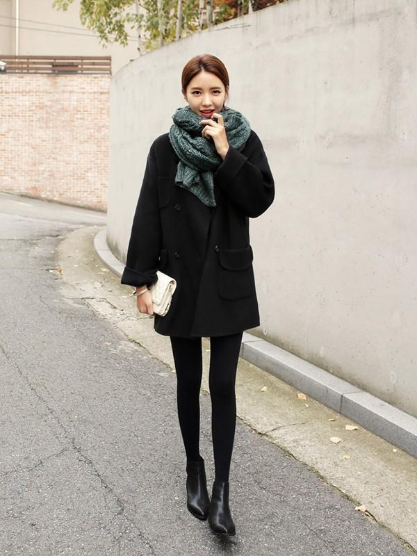 Áo khoác nữ dáng dài cho bạn nữ xinh như sao hàn