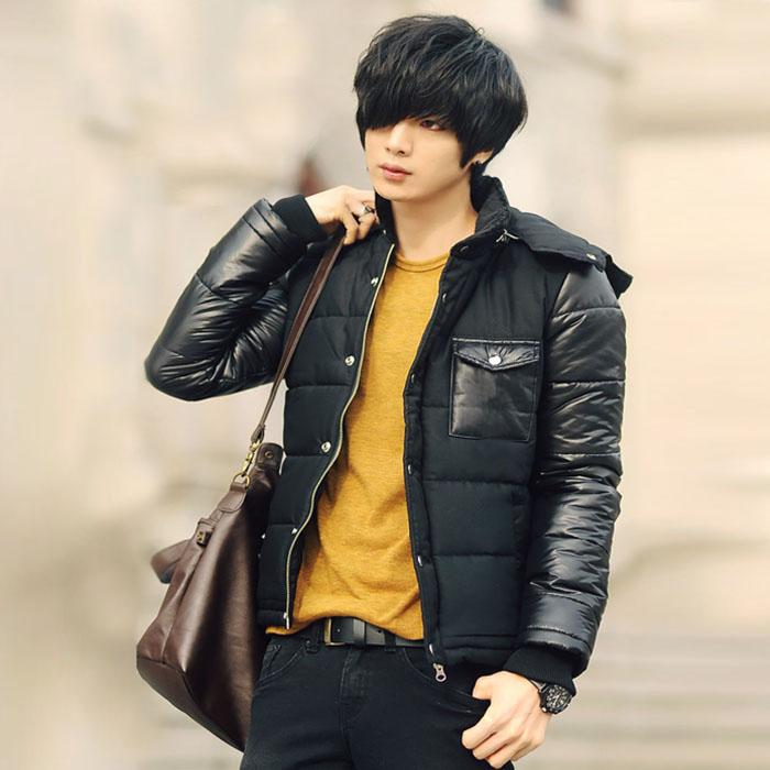 Áo khoác phao béo nam màu đen đẹp vạn người mê