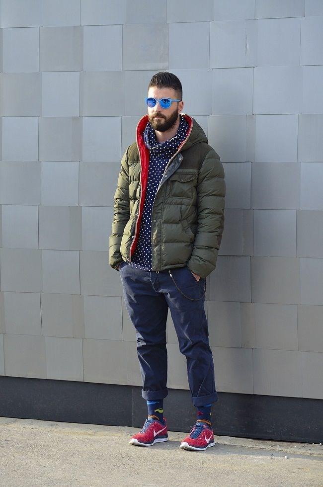 Áo khoác phao nam béo có mũ đẹp cuốn hút ấm áp