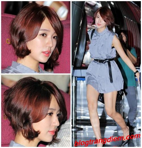 Kiểu tóc ngắn trẻ trung cho cô nàng đầy lôi cuốn