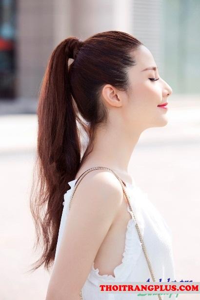 Những kiểu tóc đẹp 2017 quyến rũ của hot girl việt diễm my