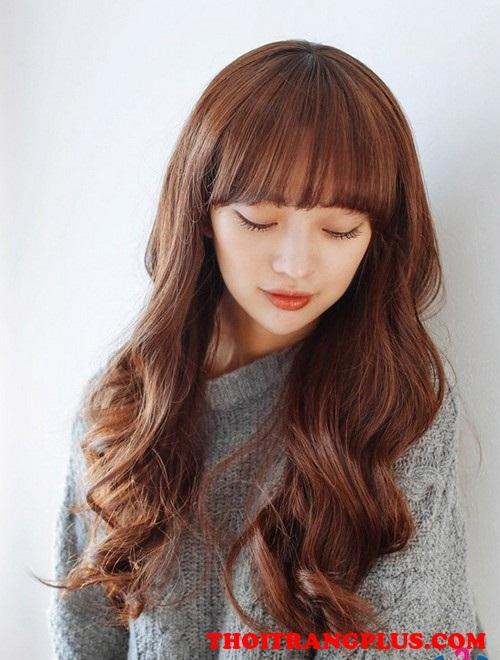 Những kiểu tóc xoăn dài cho cô nàng quyến rũ