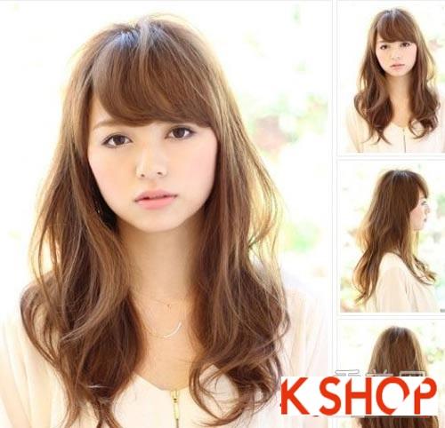 Tóc dài thẳng tuyệt đẹp biến hóa nhiều phong cách cho nàng