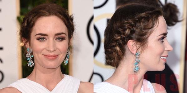 Tóc tết dài đẹp 2017 của sao hollywood trên thảm đỏ thời trang