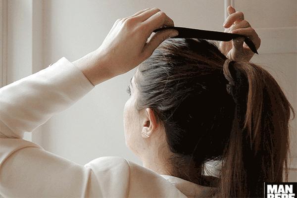 3 kiểu buộc tóc búi đuôi ngựa cao đẹp siêu mát xóa tan nóng hè