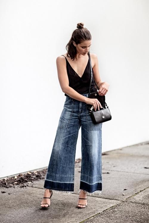 Bạn đã biết mặc quần jeans lửng đúng cách