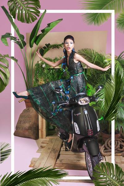 bộ ảnh thời trang đa màu sắc của stylist lê minh ngọc