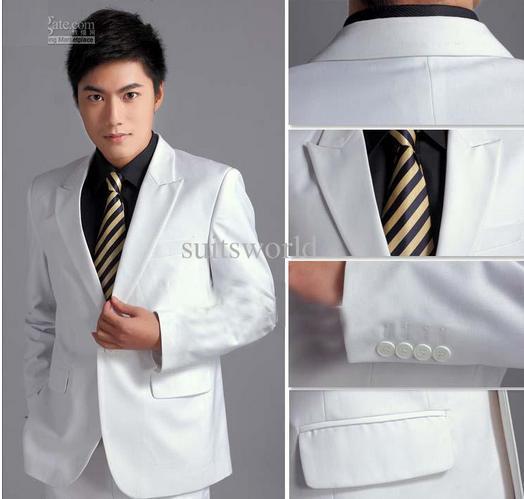 Gợi ý kiểu áo vest nam gam màu trắng xám cho chàng công sở