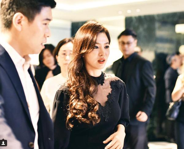 Ngưỡng mộ nhan sắc trẻ mãi không già của song hye kyo