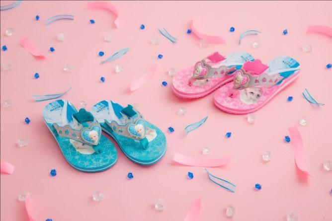 Bst giày frozen cho bé gái mùa giáng sinh