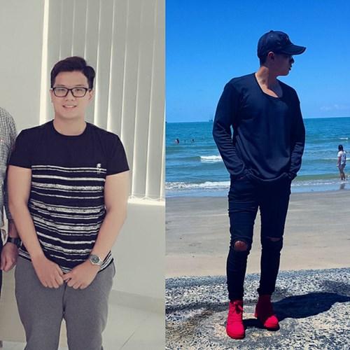 Giảm 20kg trong 5 tháng chàng 19 tuổi gây sốt với ngoại hình hot boy