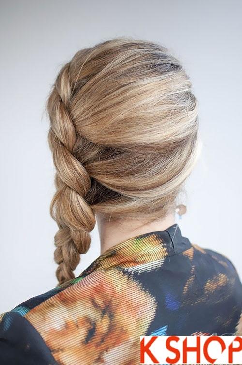 Cách tết tóc lệch đẹp dễ thương cho cô nàng xinh xắn mọi lúc