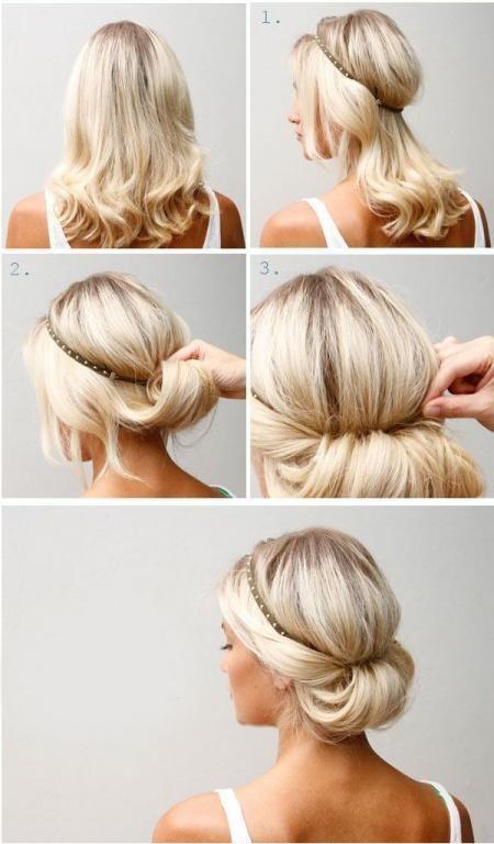 Chỉ với 3 phút bạn có thể nhanh chóng có được 14 kiểu tóc dưới đây