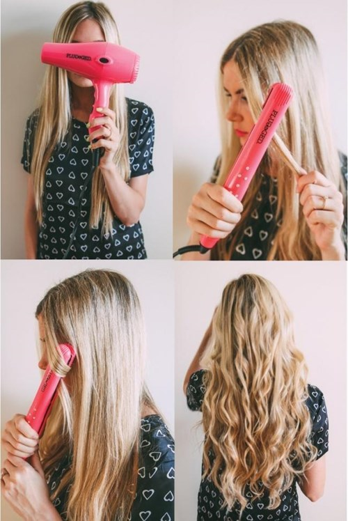 Chỉ với chiếc máy kẹp thần thánh có ngay 13 kiểu tóc cực đẹp