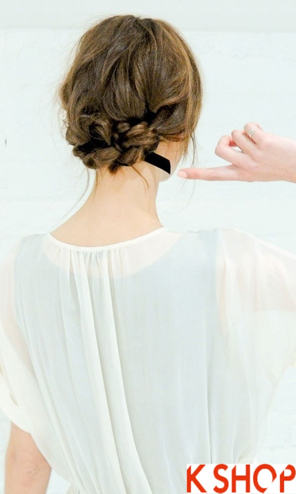 Kiểu tóc buộc đẹp hàn quốc cho các bạn gái xinh xắn quyến rũ