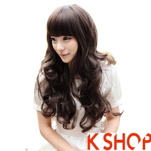 Kiểu tóc xoăn đẹp phong cách cho cô nàng xinh xắn