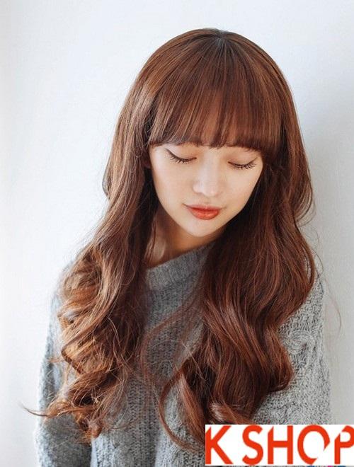 Những kiểu tóc xoăn lọn đẹp 2018 cho cô nàng xinh xắn